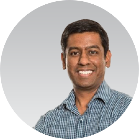 Headshot of Siva Shanmugam, Director of Verification and Fraud Strategy at Prosper