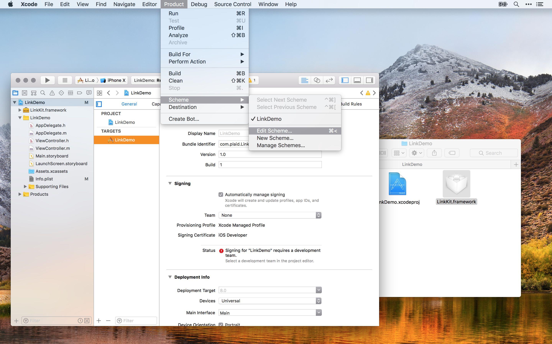 Link iOS SDK - Plaid